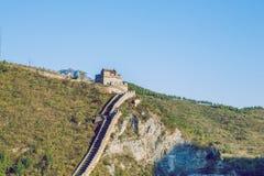 China wall in Pekin. Stock Image