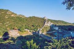 China wall in Pekin. Stock Images