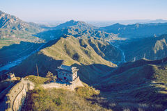 China wall in Pekin. 2016 Royalty Free Stock Images