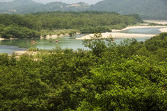 China Wenzhou landscape - NanXiJiang  river scenic Stock Photos