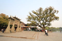 China West Lake Cultural Landscape view Stock Photography