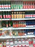 China wine. At a supermarket Tianjin China photoed on february 8th 2014 Stock Image