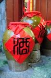 China wine jars Royalty Free Stock Image