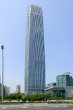 China-World Trade Center-Turm III Lizenzfreies Stockbild