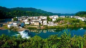 China Wuyuan Village landscapes royalty free stock photos