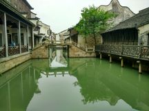 China wuzhen, cidade de tongxiang, província de zhejiang Imagem de Stock