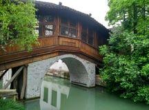 China wuzhen, tongxiang stad, zhejiang provincie Stock Foto's