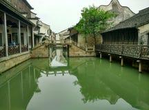 China wuzhen, tongxiang stad, zhejiang provincie Stock Afbeelding