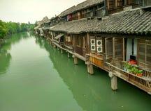 China wuzhen, tongxiang stad, zhejiang provincie Royalty-vrije Stock Afbeeldingen