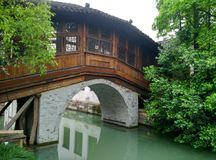 China wuzhen, Tongxiang-Stadt, Zhejiang-Provinz Stockfotos