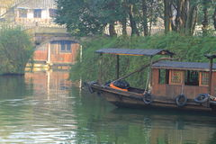 China ,wuzhen Water Village, boat Stock Photography