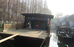China ,wuzhen Water Village, boat Stock Photo