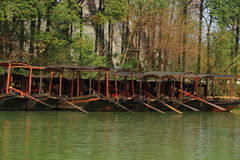 China ,wuzhen Water Village, boat Royalty Free Stock Photography