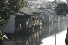 China ,wuzhen Water Village Royalty Free Stock Photo