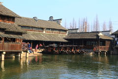 China ,wuzhen Water Village Stock Photo