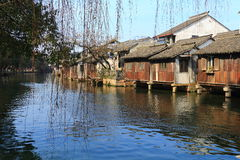 China ,wuzhen Water Village Stock Photography