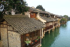China ,wuzhen Water Village Royalty Free Stock Images
