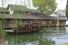 China ,wuzhen Water Village in spring Stock Image