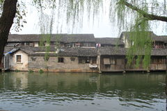 China ,wuzhen Water Village in spring Stock Images
