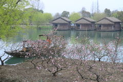 China ,wuzhen Water Village in spring Royalty Free Stock Image