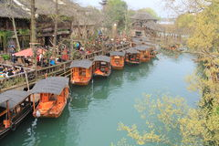 China ,wuzhen Water Village in spring Royalty Free Stock Images