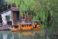 China ,wuzhen Water Village in spring Royalty Free Stock Photos