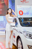 China Xi`an auto show model Stock Image
