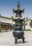 China, XI ` Enser del ¡de Ð para el incienso de la inflamación imagen de archivo libre de regalías