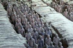 China Xi'an Lintong Terracotta Warriors Royalty Free Stock Photo