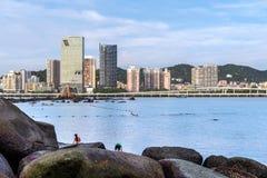 China Xiamen, Gulangyu imagem de stock