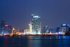 China Xiamen night view Royalty Free Stock Photo