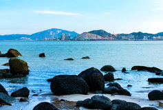 China Xiamen sea Royalty Free Stock Image
