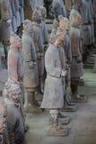CHINA, XIAN - 14 DE MARÇO: Ping Ma Yong, exército da terracota o 14 de março Imagens de Stock