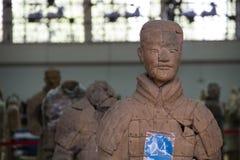 CHINA, XIAN - 14 DE MARÇO: Ping Ma Yong, exército da terracota o 14 de março Foto de Stock