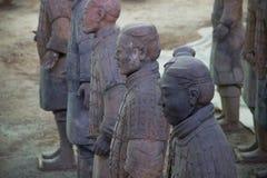 CHINA, XIAN - 14 DE MARÇO: Ping Ma Yong, exército da terracota o 14 de março Foto de Stock Royalty Free