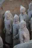 CHINA, XIAN - 14 DE MARÇO: Ping Ma Yong, exército da terracota o 14 de março Imagem de Stock