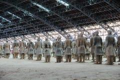 CHINA, XIAN - 14 DE MARÇO: Ping Ma Yong, exército da terracota o 14 de março Imagens de Stock Royalty Free