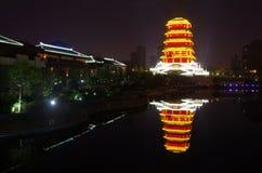China xian lake park in Seoul Stock Photos