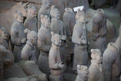 CHINA, XIAN - 14. MÄRZ: Ping Ma Yong, Terrakottaarmee am 14. März Lizenzfreies Stockbild