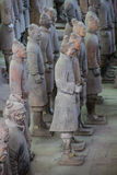 CHINA, XIAN - MARCH 14: Ping Ma Yong, Terra cotta army on 14 Mar Stock Images