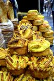 China Xian Muslim Street Food Bread royalty free stock photo