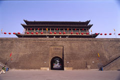China Xian (Xi'an) City Wall Stock Photography