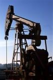 China/xijiang: unidade de bombeamento do petróleo imagem de stock