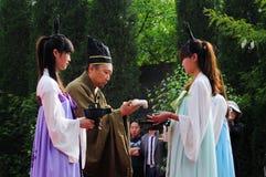 China Xingtai:Ritual ceremony Stock Photography