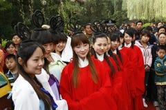 China Xingtai:Ritual ceremony Royalty Free Stock Image