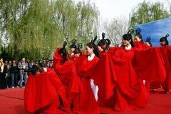 China Xingtai: Rituele ceremonie Royalty-vrije Stock Foto's