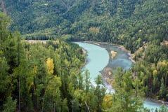 China Xinjiang scenery, Kala Si Lake Royalty Free Stock Photography