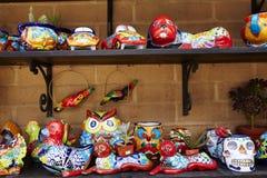 China y artesanía mexicanas fotografía de archivo libre de regalías