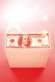 China y $100 billetes de dólar Imagen de archivo
