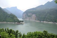 China Yangtze River Three Gorges scenic essence Royalty Free Stock Photos